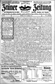 Zniner Zeitung 1911.12.13 R. 24 nr 99