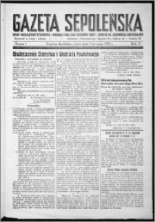 Gazeta Sępoleńska 1939, R. 13, nr 1