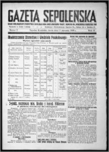 Gazeta Sępoleńska 1939, R. 13, nr 3