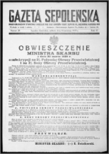 Gazeta Sępoleńska 1939, R. 13, nr 28