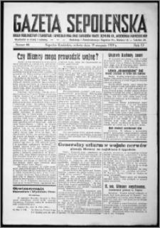 Gazeta Sępoleńska 1939, R. 13, nr 66