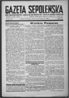 Gazeta Sępoleńska 1938, R. 12, nr 28