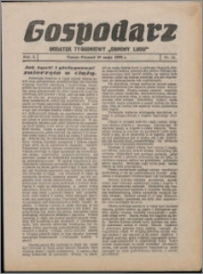 """Gospodarz : dodatek tygodniowy """"Obrony Ludu"""" i """"Głosu Robotnika"""" 1932, R. 2 nr 14"""