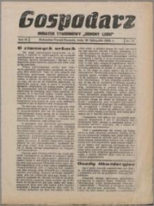 """Gospodarz : dodatek tygodniowy """"Obrony Ludu"""" i """"Głosu Robotnika"""" 1933, R. 3 nr 47"""
