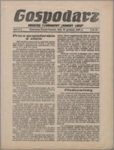 """Gospodarz : dodatek tygodniowy """"Obrony Ludu"""" i """"Głosu Robotnika"""" 1933, R. 3 nr 51"""