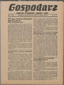 """Gospodarz : dodatek tygodniowy """"Obrony Ludu"""" i """"Głosu Robotnika"""" 1936, R. 6 nr 6"""