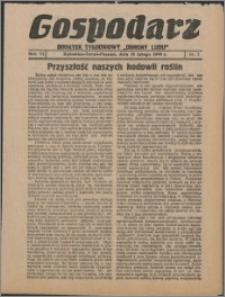 """Gospodarz : dodatek tygodniowy """"Obrony Ludu"""" i """"Głosu Robotnika"""" 1936, R. 6 nr 7"""