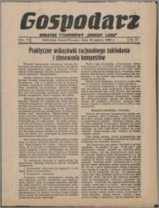 """Gospodarz : dodatek tygodniowy """"Obrony Ludu"""" i """"Głosu Robotnika"""" 1936, R. 6 nr 10"""
