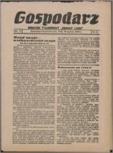 """Gospodarz : dodatek tygodniowy """"Obrony Ludu"""" i """"Głosu Robotnika"""" 1936, R. 6 nr 11"""