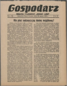 """Gospodarz : dodatek tygodniowy """"Obrony Ludu"""" i """"Głosu Robotnika"""" 1936, R. 6 nr 12"""