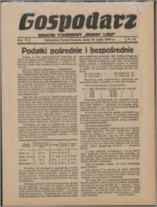 """Gospodarz : dodatek tygodniowy """"Obrony Ludu"""" i """"Głosu Robotnika"""" 1936, R. 6 nr 18"""