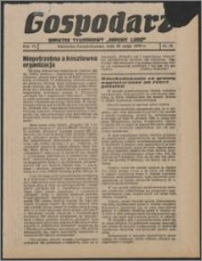"""Gospodarz : dodatek tygodniowy """"Obrony Ludu"""" i """"Głosu Robotnika"""" 1936, R. 6 nr 19"""