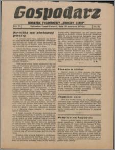 """Gospodarz : dodatek tygodniowy """"Obrony Ludu"""" i """"Głosu Robotnika"""" 1936, R. 6 nr 22"""