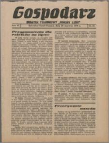 """Gospodarz : dodatek tygodniowy """"Obrony Ludu"""" i """"Głosu Robotnika"""" 1936, R. 6 nr 23"""