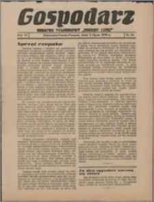 """Gospodarz : dodatek tygodniowy """"Obrony Ludu"""" i """"Głosu Robotnika"""" 1936, R. 6 nr 24"""