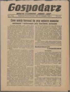 """Gospodarz : dodatek tygodniowy """"Obrony Ludu"""" i """"Głosu Robotnika"""" 1936, R. 6 nr 30"""