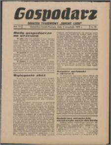 """Gospodarz : dodatek tygodniowy """"Obrony Ludu"""" i """"Głosu Robotnika"""" 1936, R. 6 nr 33"""