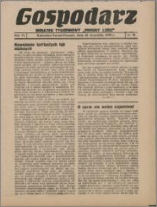 """Gospodarz : dodatek tygodniowy """"Obrony Ludu"""" i """"Głosu Robotnika"""" 1936, R. 6 nr 35"""