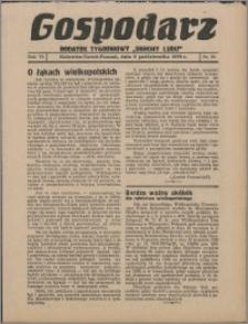 """Gospodarz : dodatek tygodniowy """"Obrony Ludu"""" i """"Głosu Robotnika"""" 1936, R. 6 nr 39"""