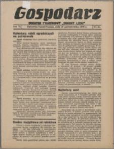 """Gospodarz : dodatek tygodniowy """"Obrony Ludu"""" i """"Głosu Robotnika"""" 1936, R. 6 nr 40"""