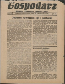 """Gospodarz : dodatek tygodniowy """"Obrony Ludu"""" i """"Głosu Robotnika"""" 1936, R. 6 nr 41"""