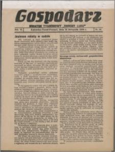 """Gospodarz : dodatek tygodniowy """"Obrony Ludu"""" i """"Głosu Robotnika"""" 1936, R. 6 nr 44"""