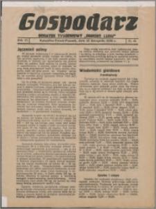 """Gospodarz : dodatek tygodniowy """"Obrony Ludu"""" i """"Głosu Robotnika"""" 1936, R. 6 nr 45"""