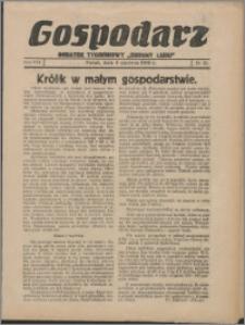 """Gospodarz : dodatek tygodniowy """"Obrony Ludu"""" i """"Głosu Robotnika"""" 1938, R. 8 nr 22"""