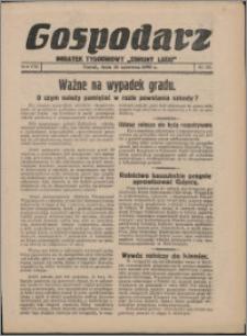 """Gospodarz : dodatek tygodniowy """"Obrony Ludu"""" i """"Głosu Robotnika"""" 1938, R. 8 nr 23"""