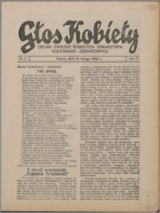 Głos Kobiety 1932, R. 2 nr 4