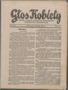 Głos Kobiety 1933, R. 3 nr 2