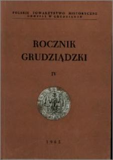 Rocznik Grudziądzki T.4