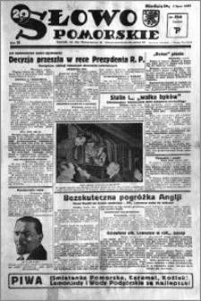 Słowo Pomorskie 1935.07.07 R.15 nr 154
