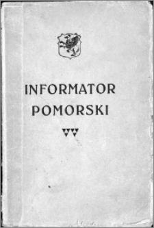 """""""Gryf""""- informator pomorski : księga adresowa Pomorza z szczególnem uwzględnieniem władz i urzędów, handlu, przemysłu, rzemiosła i rolnictwa"""