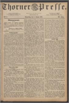Thorner Presse 1885, Jg. III, Nro. 6