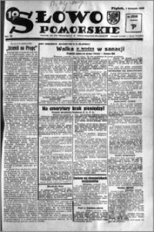 Słowo Pomorskie 1935.11.01 R.15 nr 253
