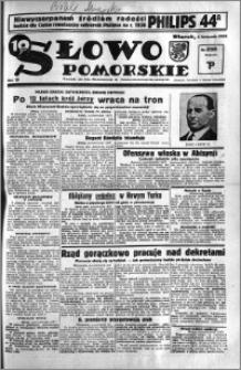 Słowo Pomorskie 1935.11.05 R.15 nr 255