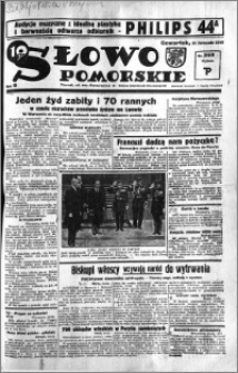 Słowo Pomorskie 1935.11.21 R.15 nr 269