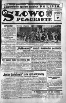 Słowo Pomorskie 1935.11.22 R.15 nr 270