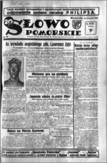 Słowo Pomorskie 1935.11.24 R.15 nr 272