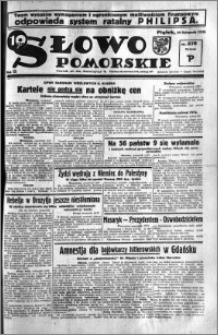 Słowo Pomorskie 1935.11.29 R.15 nr 276