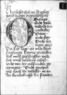 Modlitewnik (m. in. Gebete zur Heiligen Dreifaltigkeit, Sonntagsgebete)