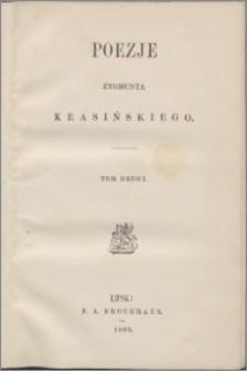 Poezje Zygmunta Krasińskiego T. 2.