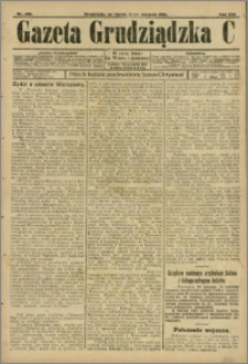 Gazeta Grudziądzka 1915.08.21 R.21 nr 100 + dodatek
