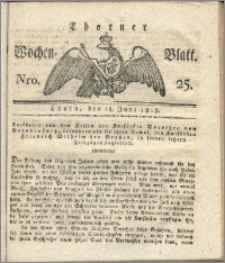 Thorner Wochen-Blatt 1818, Nro. 25