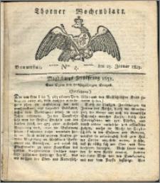 Thorner Wochenblatt 1823, Nro. 4
