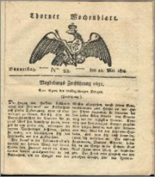 Thorner Wochenblatt 1823, Nro. 22