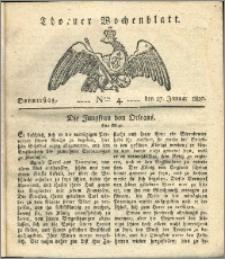 Thorner Wochenblatt 1820, Nro. 4