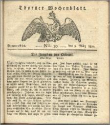 Thorner Wochenblatt 1820, Nro. 10