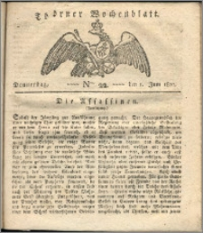 Thorner Wochenblatt 1820, Nro. 22